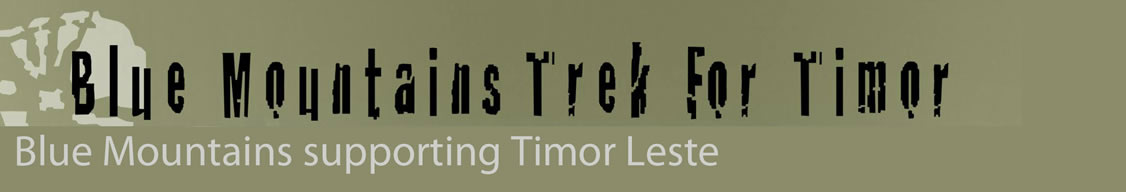 Trek For Timor Blue Mountains